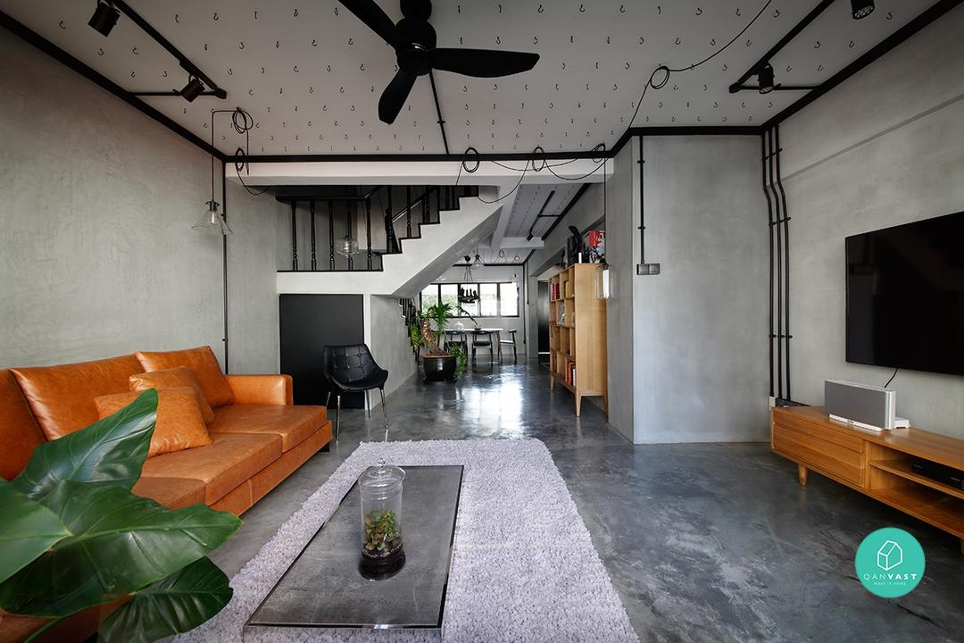 8 HDB Maisonettes With Modern Makeovers 14
