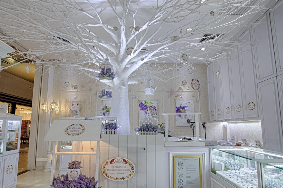 Garden of Dazzles, KLIA 2, GI Design Sdn Bhd, Vintage, Commercial, Arch, Arched, Architecture, Building, Vault Ceiling