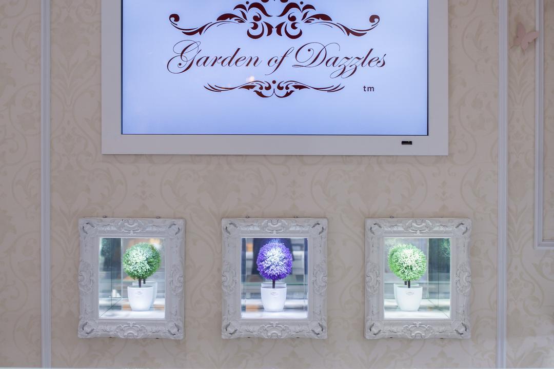 Garden of Dazzles, KLIA 2, GI Design Sdn Bhd, Vintage, Commercial, Mirror