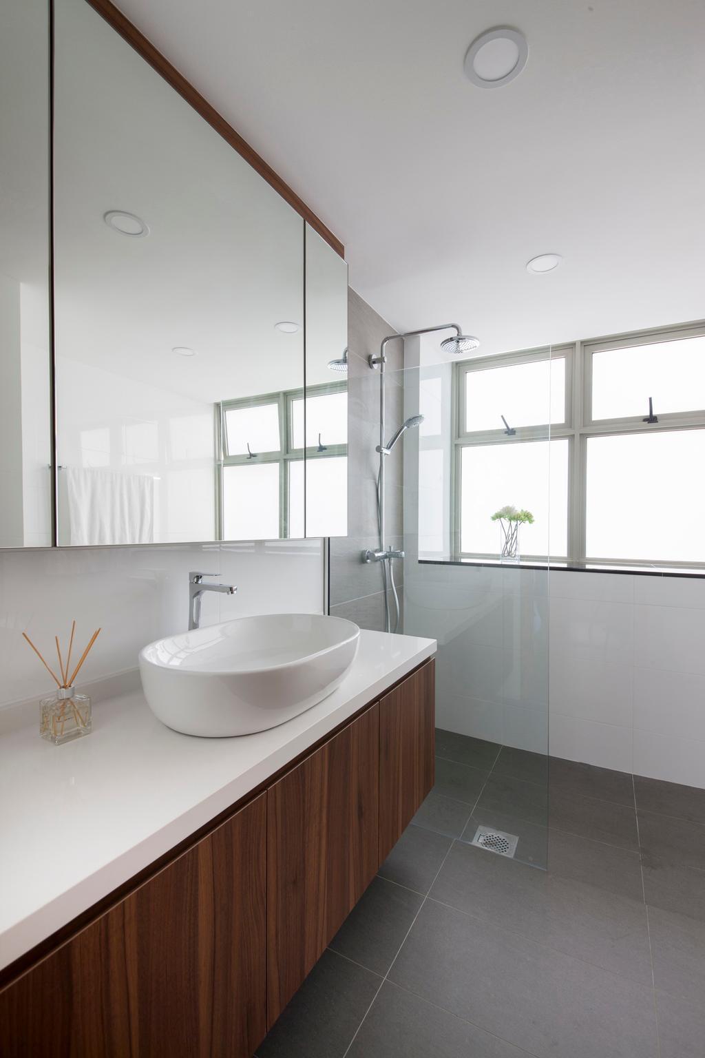 Modern, Condo, Bathroom, The Calrose, Interior Designer, Space Concepts Design, Indoors, Interior Design, Room, Toilet