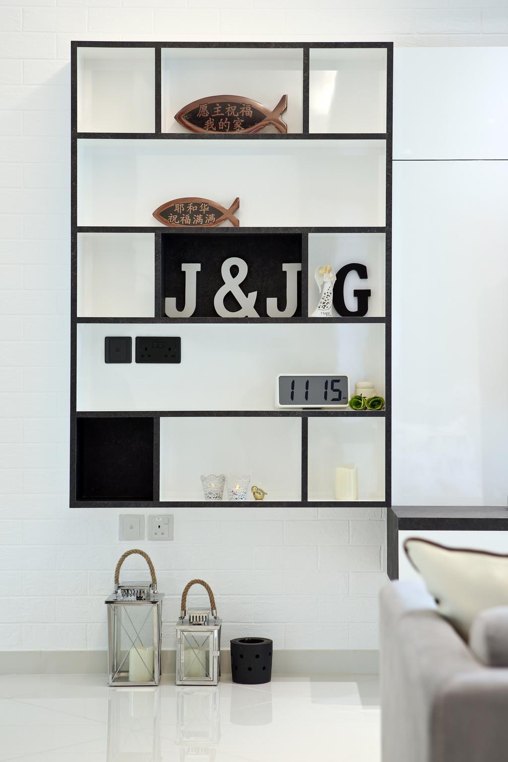 Modern, Condo, Living Room, Eight Courtyards, Interior Designer, Vegas Interior Design