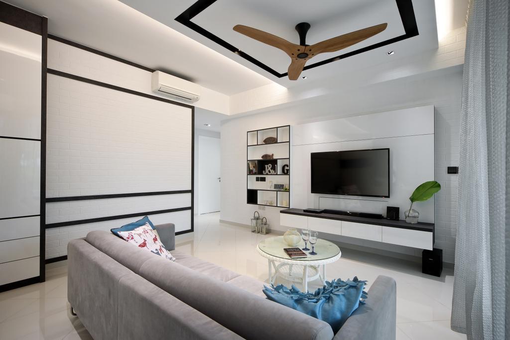 Modern, Condo, Living Room, Eight Courtyards, Interior Designer, Vegas Interior Design, Indoors, Room, Electronics, Entertainment Center, Bedroom, Interior Design
