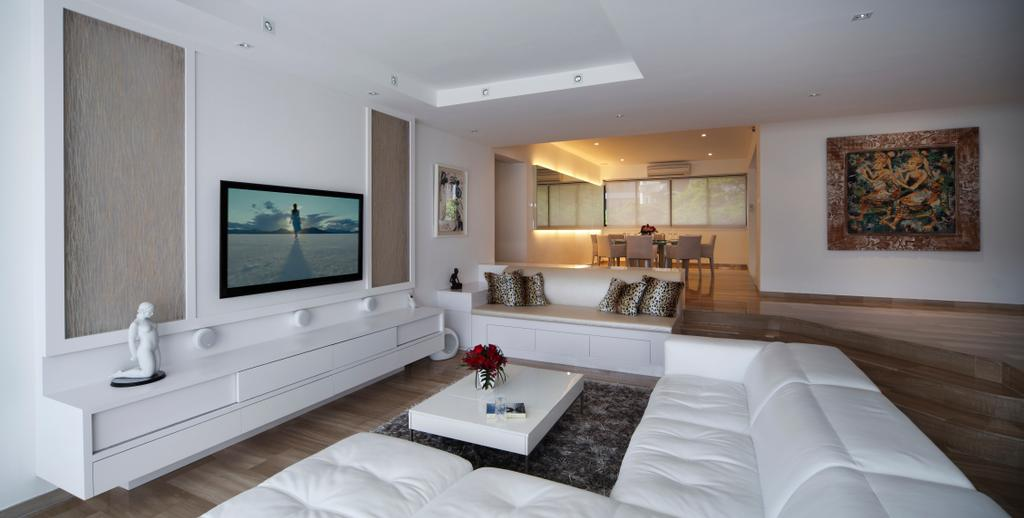 Contemporary, Condo, Living Room, Equatorial Apartment, Interior Designer, Vegas Interior Design, Indoors, Interior Design, Electronics, Monitor, Screen, Tv, Television