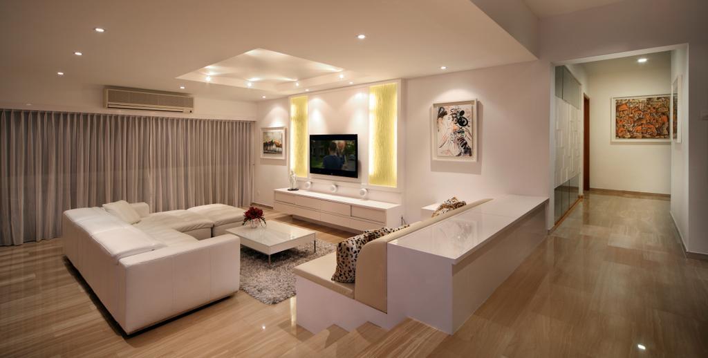 Contemporary, Condo, Living Room, Equatorial Apartment, Interior Designer, Vegas Interior Design, Indoors, Interior Design, Flooring