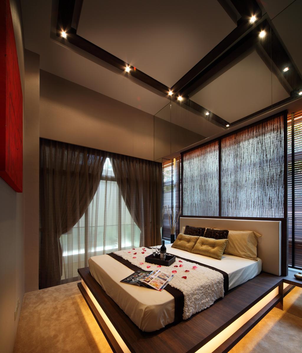 Eclectic, Condo, Bedroom, The Serennia, Interior Designer, Vegas Interior Design, Curtain, Home Decor, Indoors, Interior Design