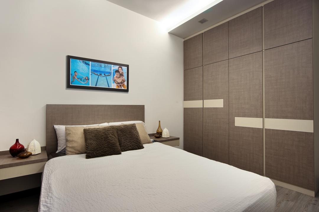 Boon Lay Drive (Block 196B), Vegas Interior Design, Scandinavian, Bedroom, HDB, Indoors, Interior Design, Room, Cushion, Home Decor, Pillow