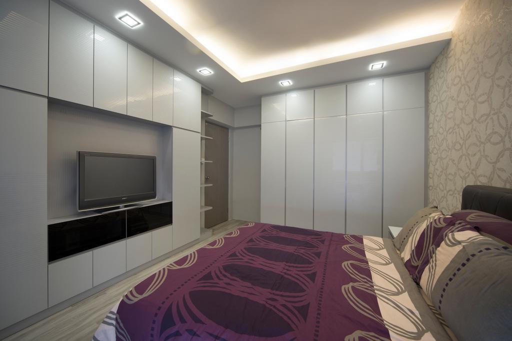 Modern, HDB, Bedroom, Clementi Street (Block 118), Interior Designer, Vegas Interior Design, Contemporary, Indoors, Room, Interior Design