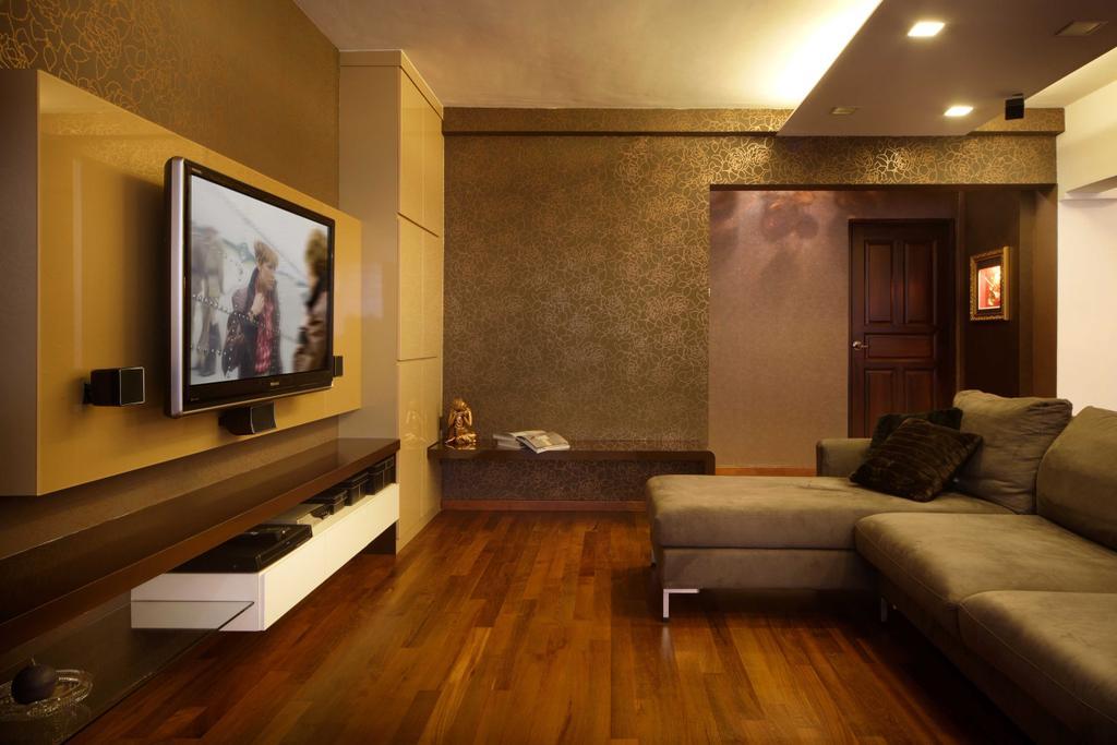 Modern, HDB, Living Room, Hougang Avenue 8 (Block 654), Interior Designer, Vegas Interior Design, Contemporary, Couch, Furniture, Indoors, Room