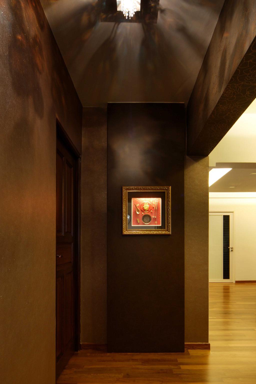 Modern, HDB, Hougang Avenue 8 (Block 654), Interior Designer, Vegas Interior Design, Contemporary, Corridor