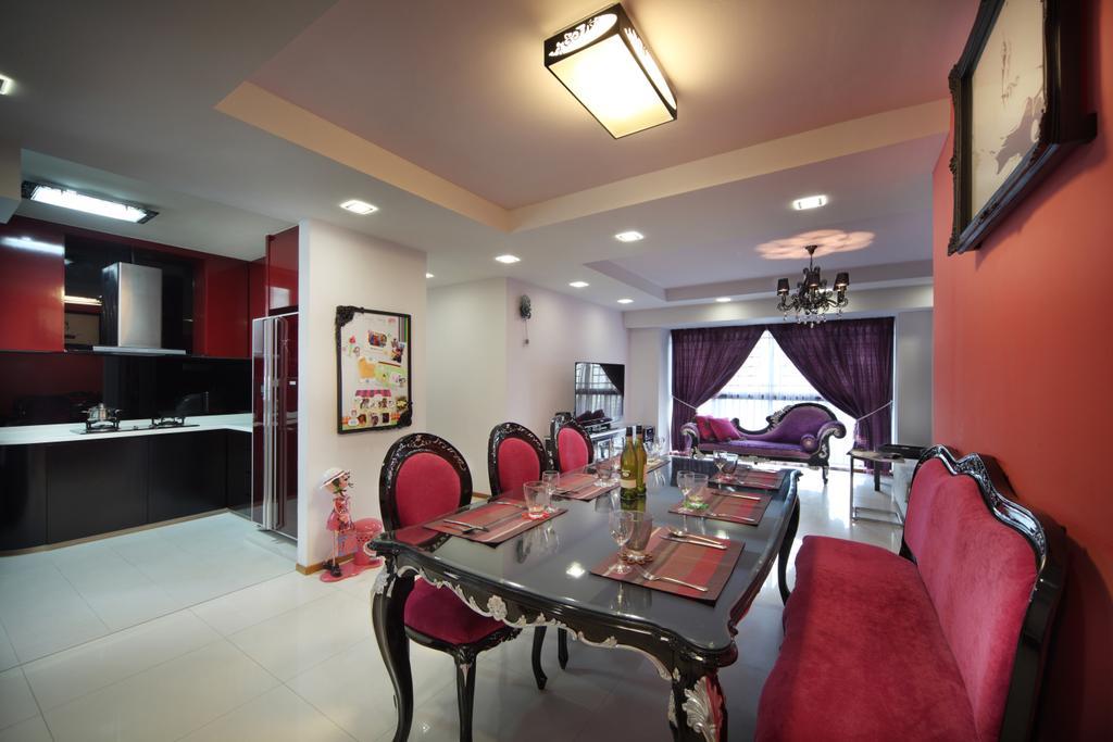 Traditional, HDB, Dining Room, The Pinnacle@Duxton (Block 1G), Interior Designer, Vegas Interior Design, Indoors, Interior Design, Room, Chair, Furniture, Dining Table, Table