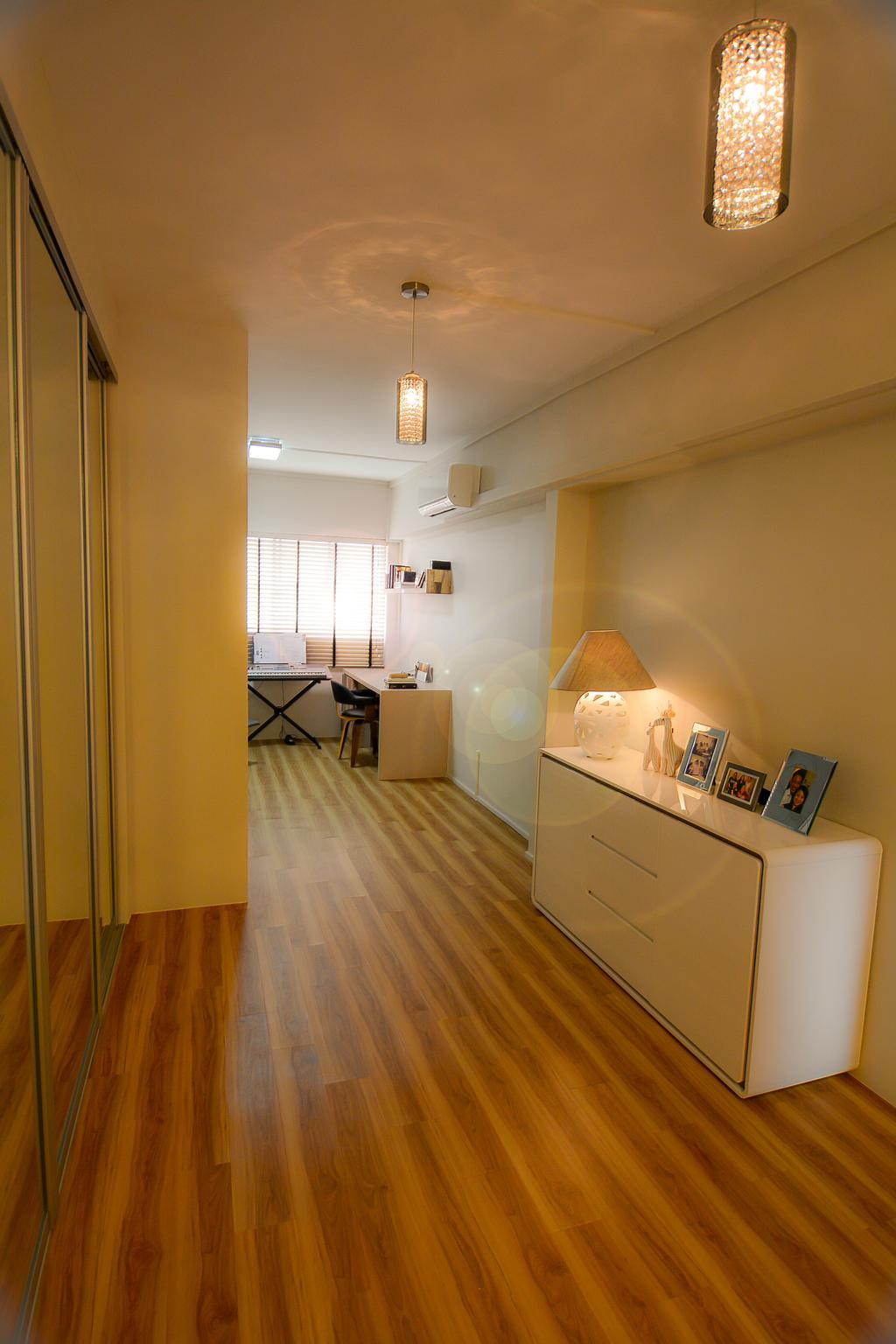 Modern, HDB, Bedroom, Bedok Reservoir (Block 615), Interior Designer, Faith Interior Design, Scandinavian