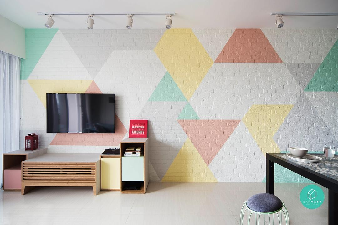 10 Fabulous Feature Wall Ideas To Transform Your Living Room