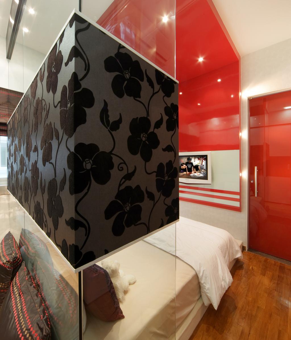 Modern, Landed, Bedroom, The Shaughnessy, Interior Designer, Vegas Interior Design, Contemporary, Glass Bedroom