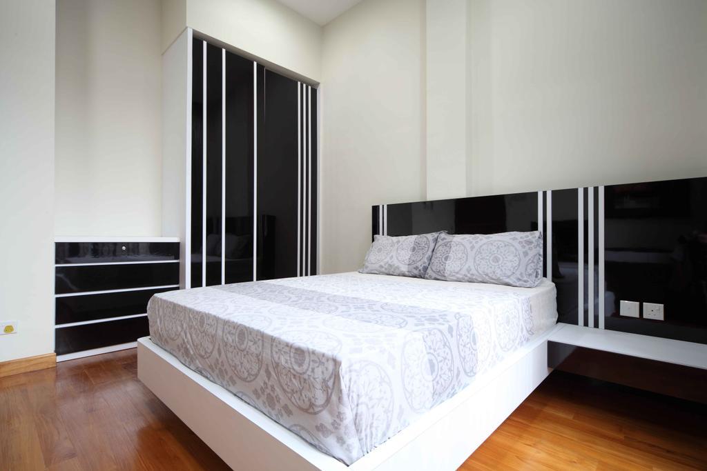 Modern, Landed, Bedroom, Jalan Hussein, Interior Designer, Vegas Interior Design, Contemporary, Bed, Furniture, Indoors, Interior Design, Room