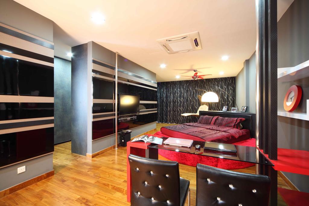 Modern, Landed, Bedroom, Jalan Hussein, Interior Designer, Vegas Interior Design, Contemporary, Indoors, Interior Design