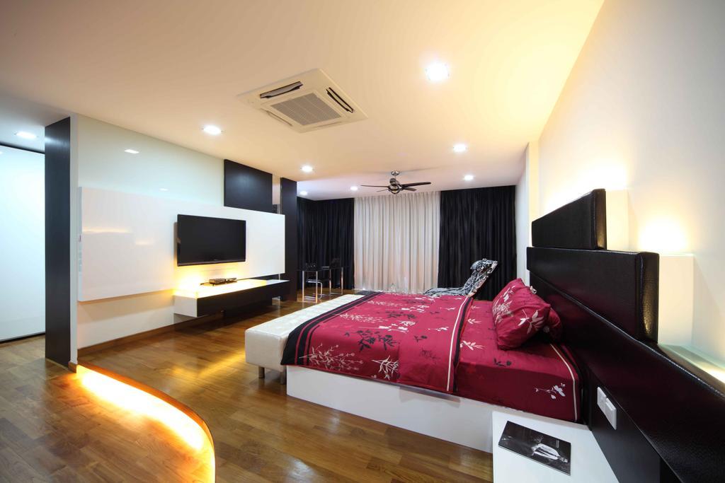 Modern, Landed, Bedroom, Jalan Hussein, Interior Designer, Vegas Interior Design, Contemporary, Couch, Furniture, Indoors, Room, Interior Design