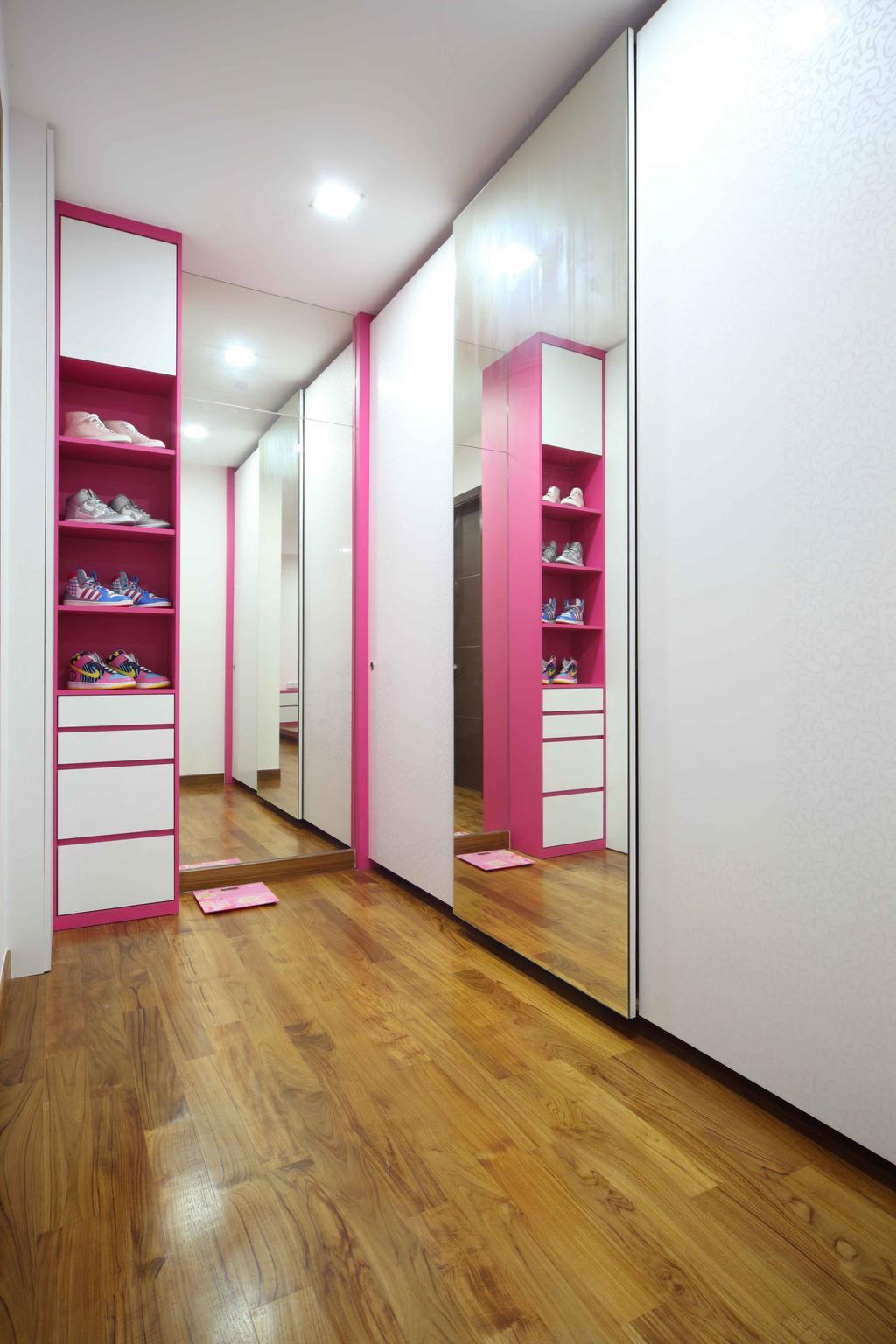 Modern, Landed, Bedroom, Jalan Hussein, Interior Designer, Vegas Interior Design, Contemporary, Flooring