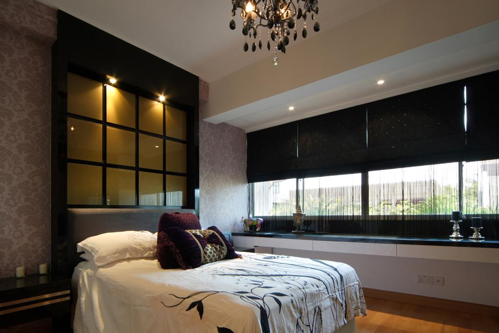 Contemporary, Landed, Bedroom, Ocean Drive, Sentosa Cove, Interior Designer, Vegas Interior Design, Bed, Furniture
