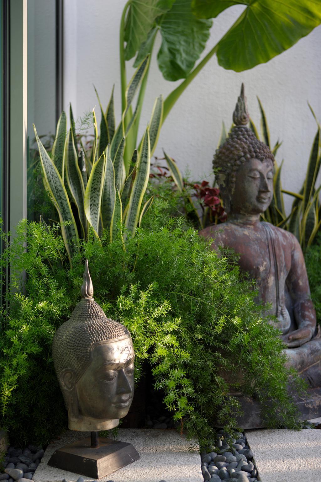 Contemporary, Landed, Garden, Ocean Drive, Sentosa Cove, Interior Designer, Vegas Interior Design, Art, Buddha, Worship
