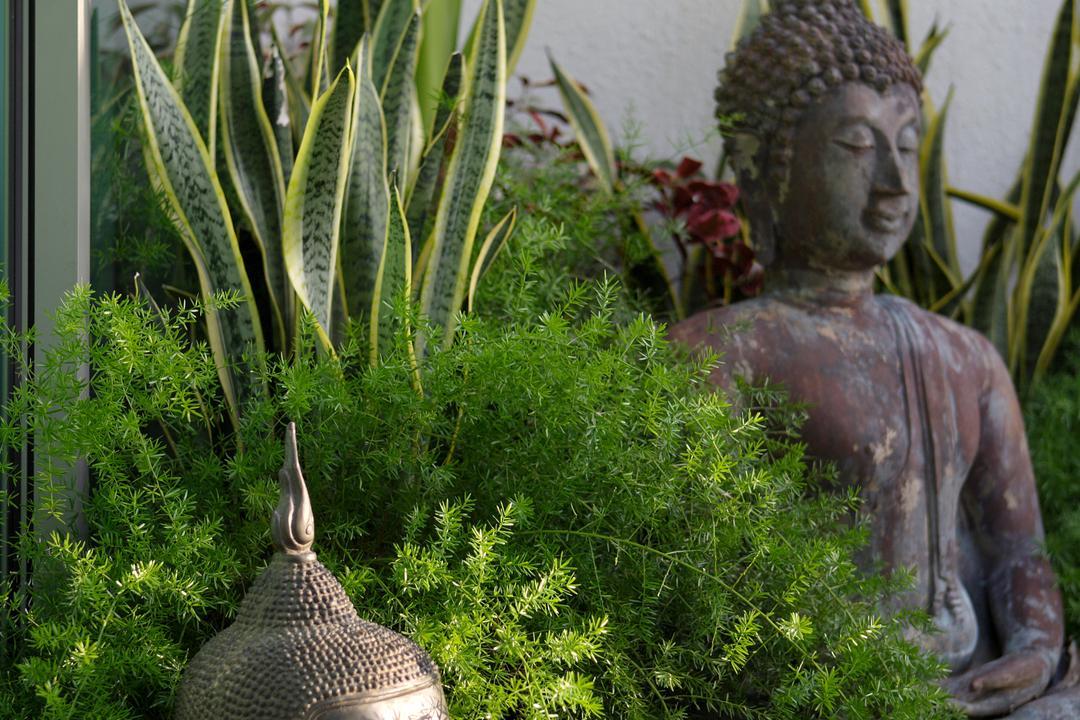 Ocean Drive, Sentosa Cove, Vegas Interior Design, Contemporary, Garden, Landed, Art, Buddha, Worship