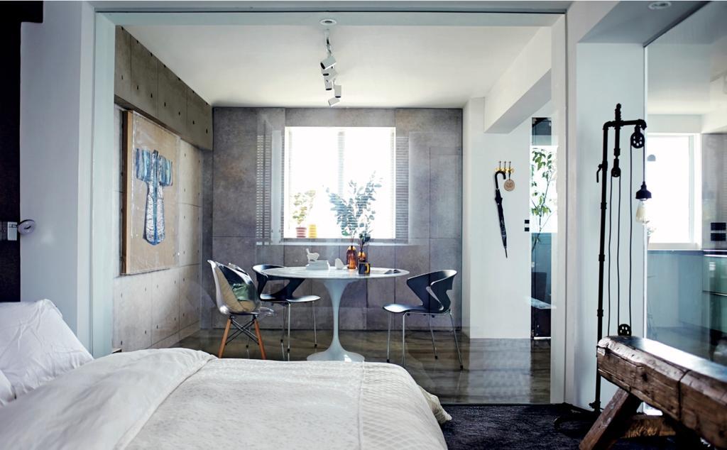 Eclectic, HDB, Bedroom, Circuit Road (Block 37), Interior Designer, Bowerman, Sink, Cradle, Furniture
