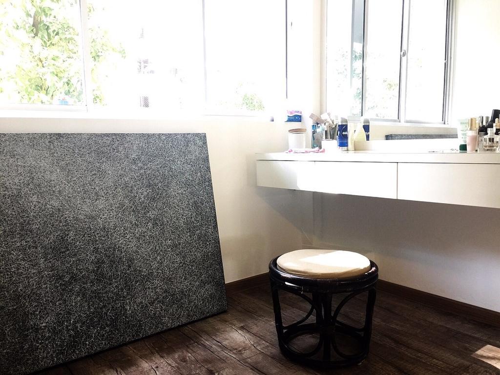 Traditional, HDB, Bedroom, Yishun Ring Road (Block 332), Interior Designer, Starry Homestead, Stool, Cushioned, Study Table, Bar Stool, Furniture