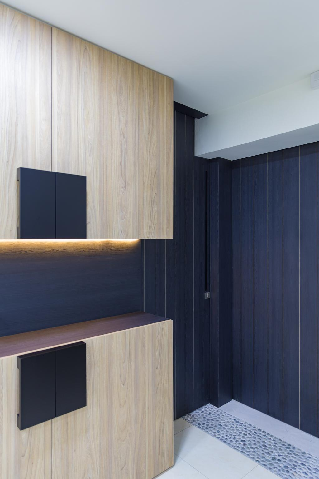Minimalistic, HDB, Compassvale, Interior Designer, Baum Project Pte Ltd