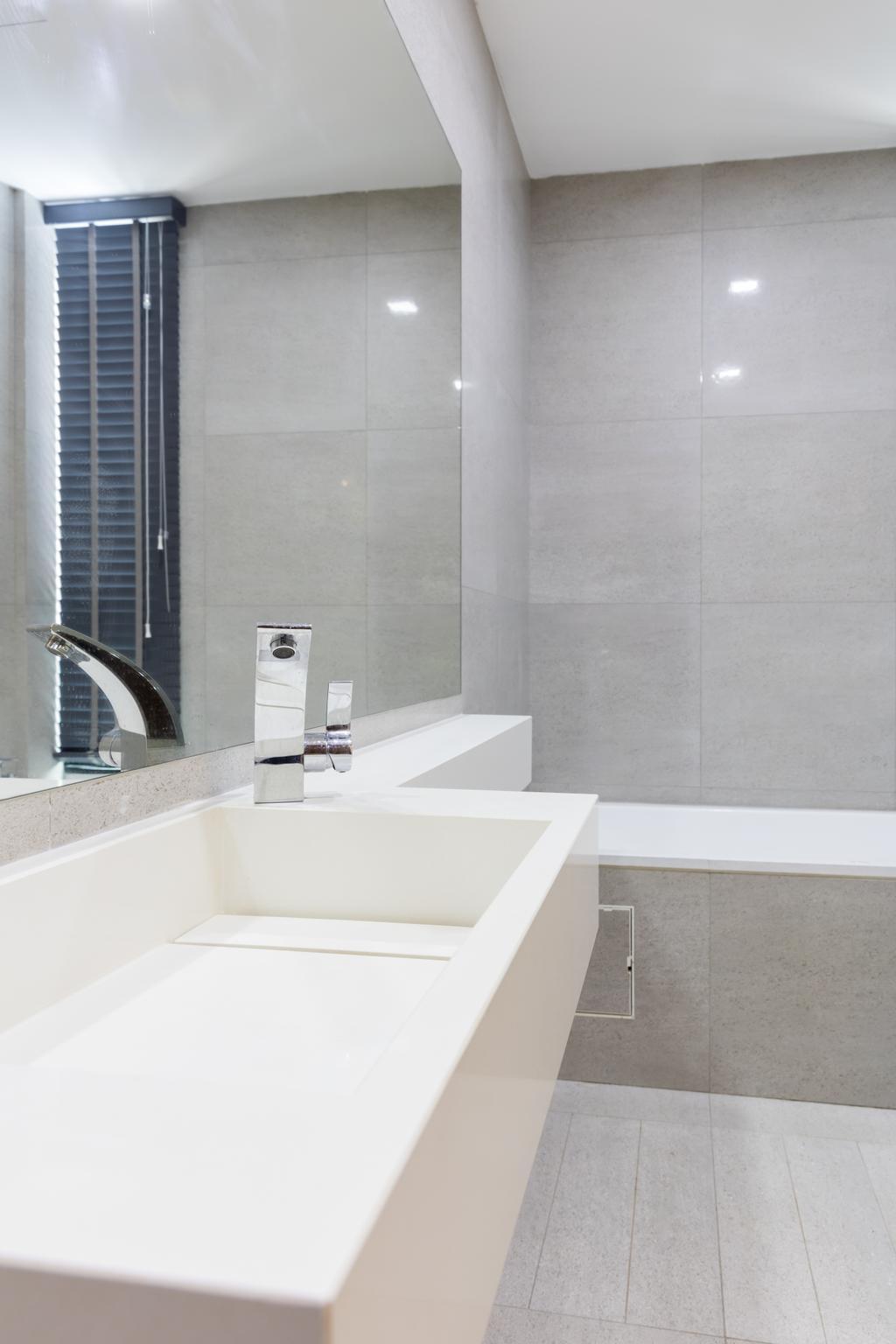 Modern, Landed, Bathroom, Peminpin, Interior Designer, Baum Project Pte Ltd