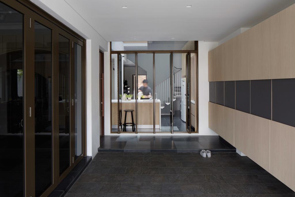 Modern, Landed, Jalan Jambu, Architect, asolidplan, Flooring