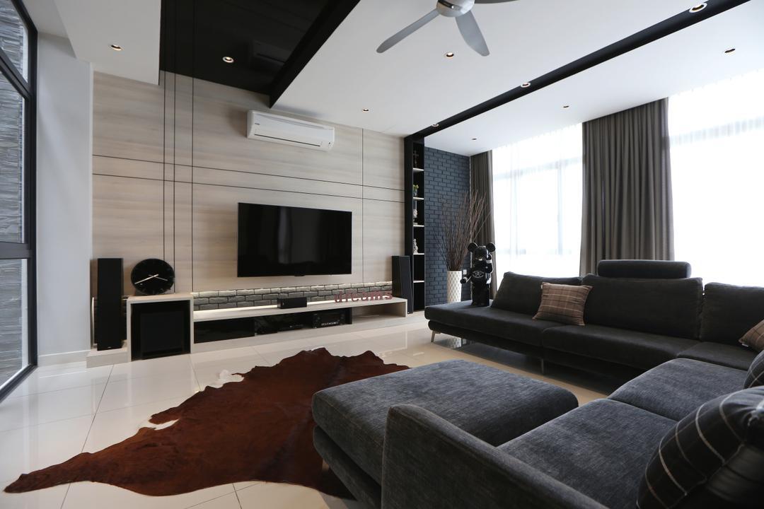 Ampang, Kuala Lumpur Living Room Interior Design 1