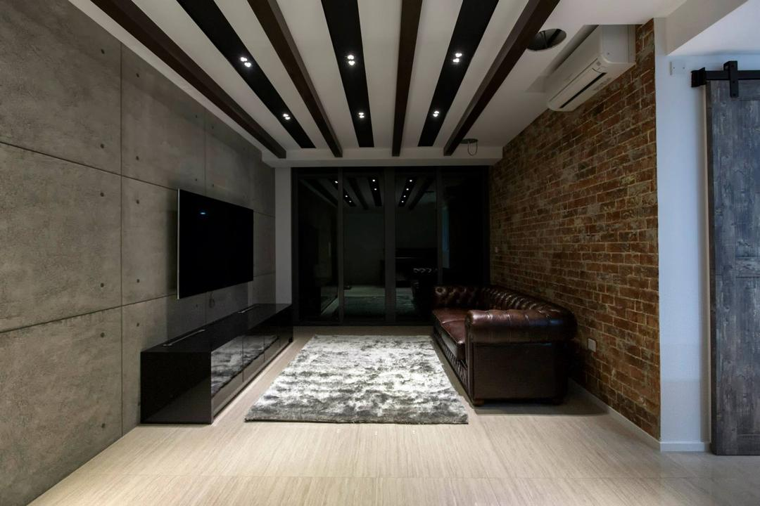 Simei Street 3 Living Room Interior Design 5