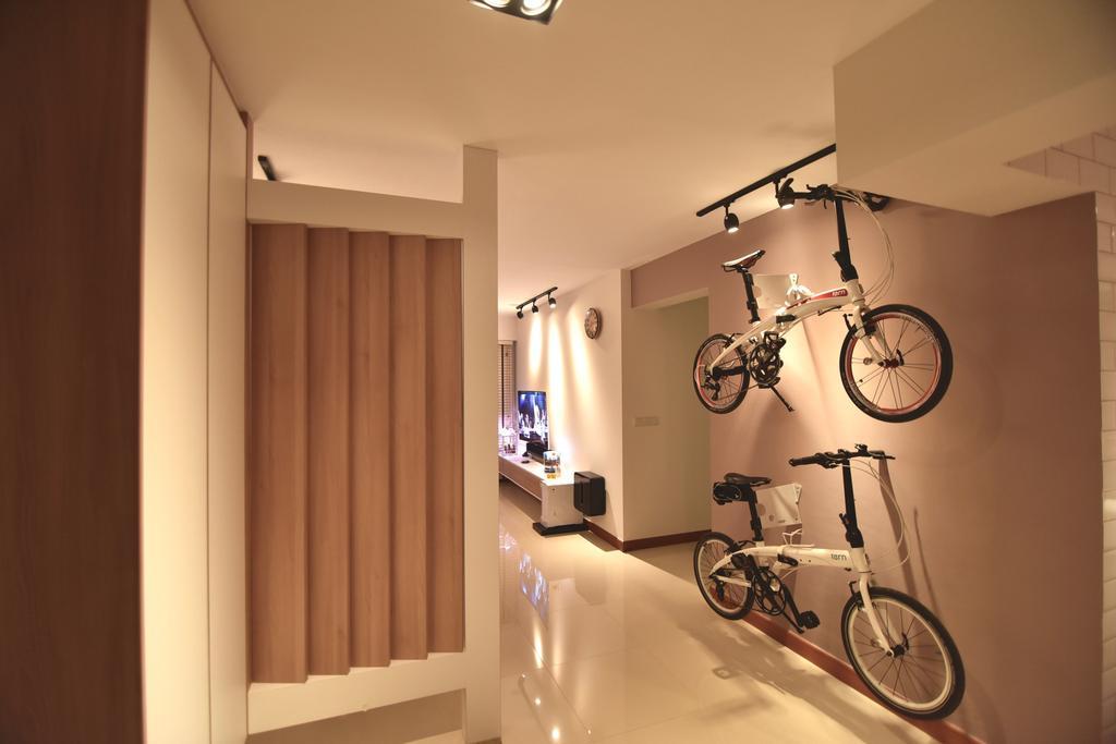 Scandinavian, HDB, Dining Room, Punggol Drive (Block 678A), Interior Designer, Van Hus Interior Design, Industrial