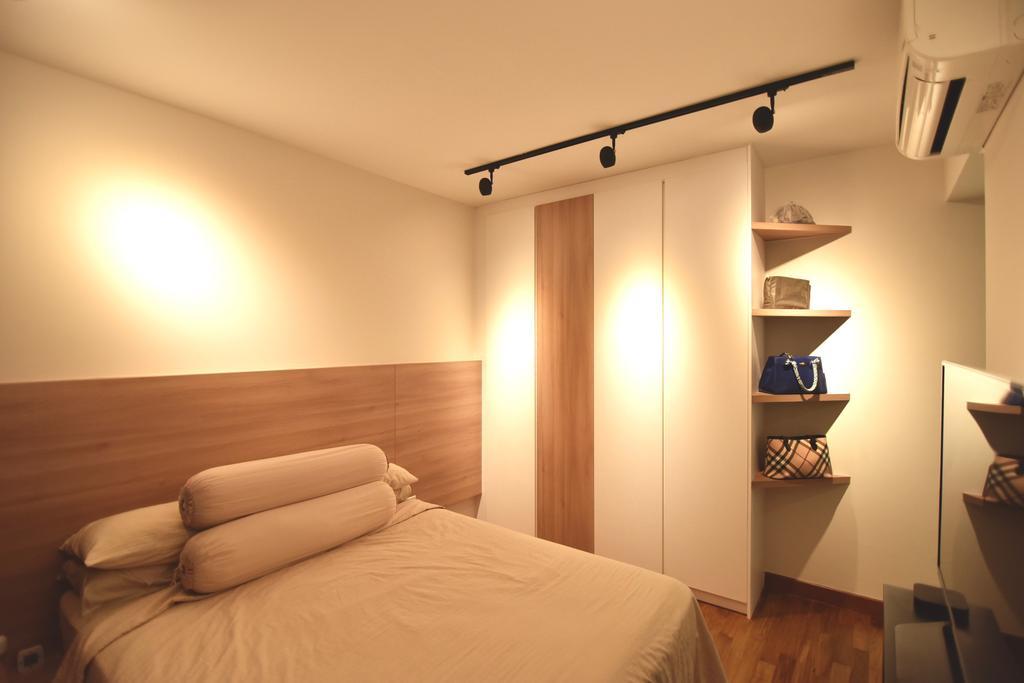 Scandinavian, HDB, Bedroom, Punggol Drive (Block 678A), Interior Designer, Van Hus Interior Design, Industrial