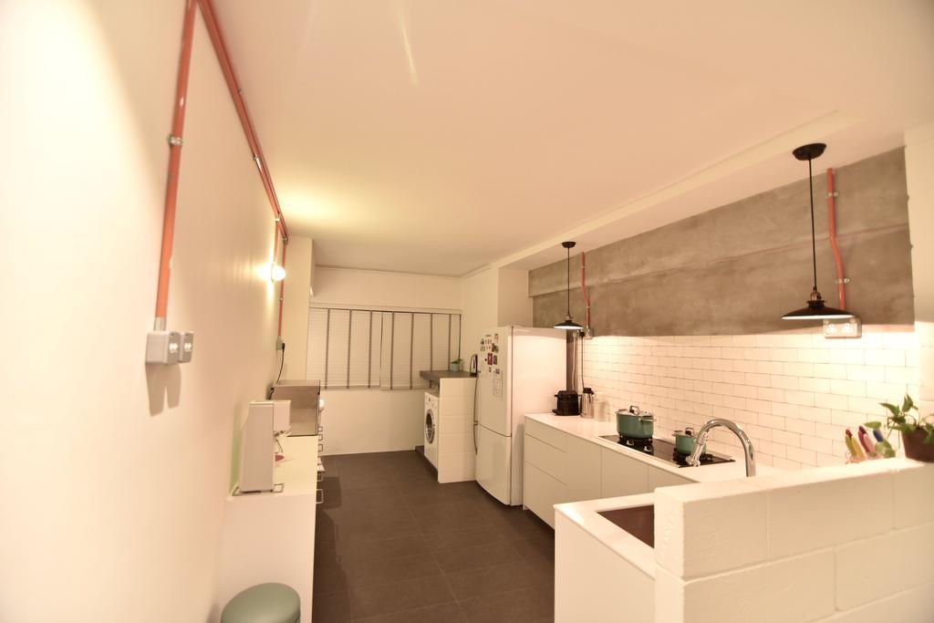 Minimalistic, HDB, Kitchen, Telok Blangah Height (Block 64), Interior Designer, Van Hus Interior Design