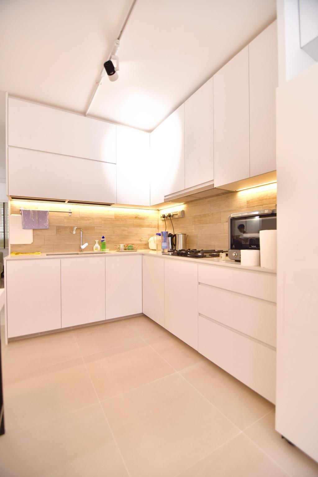 Modern, HDB, Kitchen, Bishan Street 24 (Block 266), Interior Designer, Van Hus Interior Design