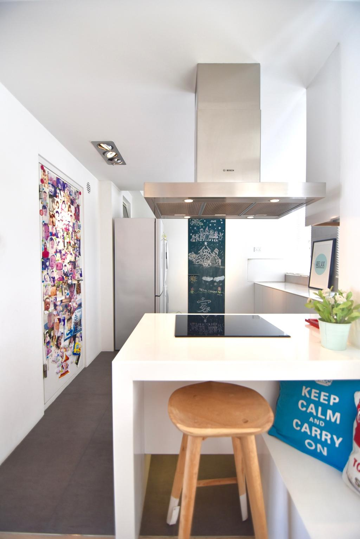 Scandinavian, Condo, Kitchen, Casablanca, Interior Designer, Van Hus Interior Design
