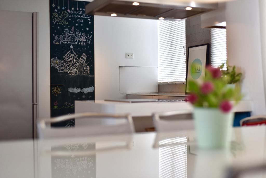 Scandinavian, Condo, Dining Room, Casablanca, Interior Designer, Van Hus Interior Design