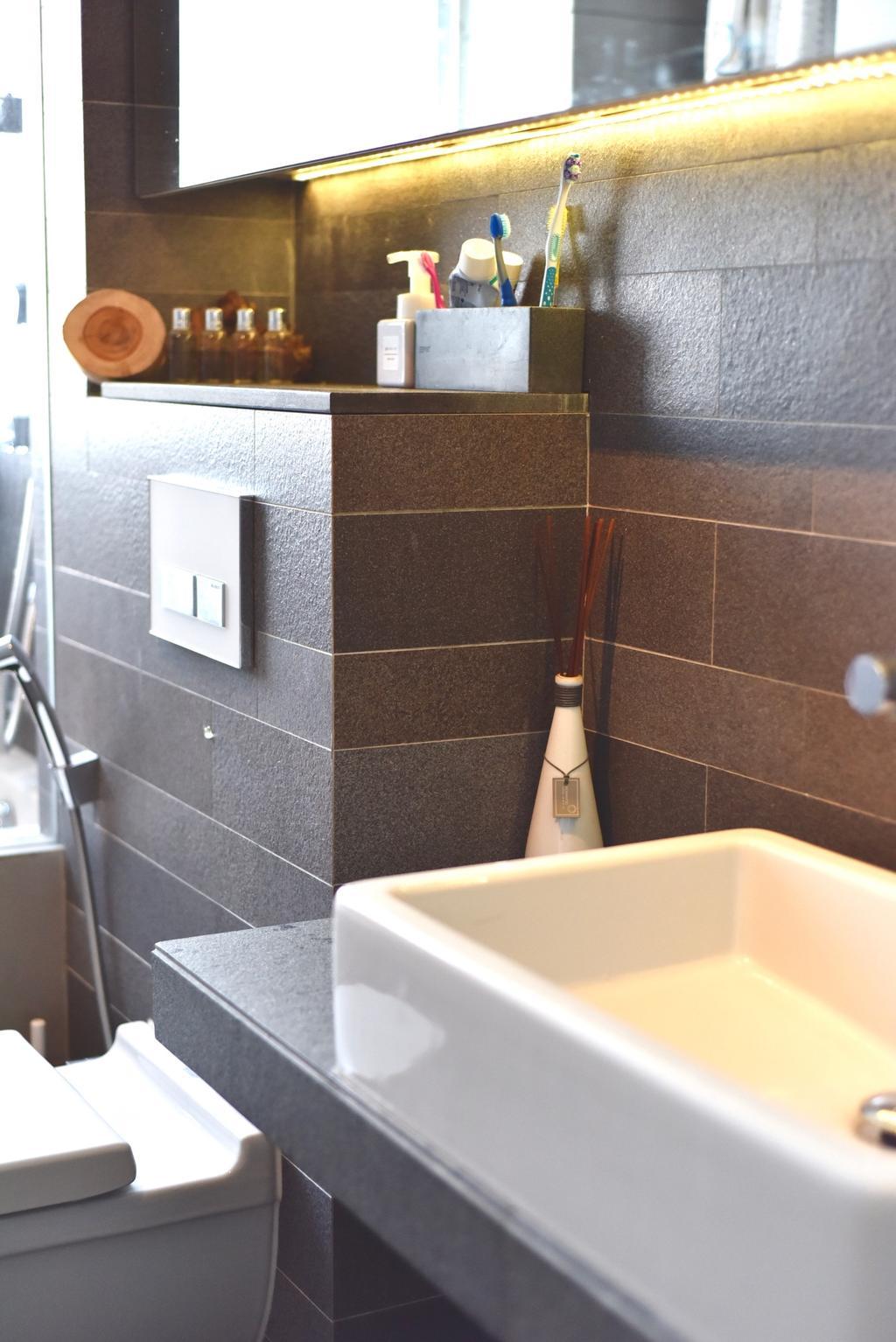 Scandinavian, Condo, Bathroom, Casablanca, Interior Designer, Van Hus Interior Design