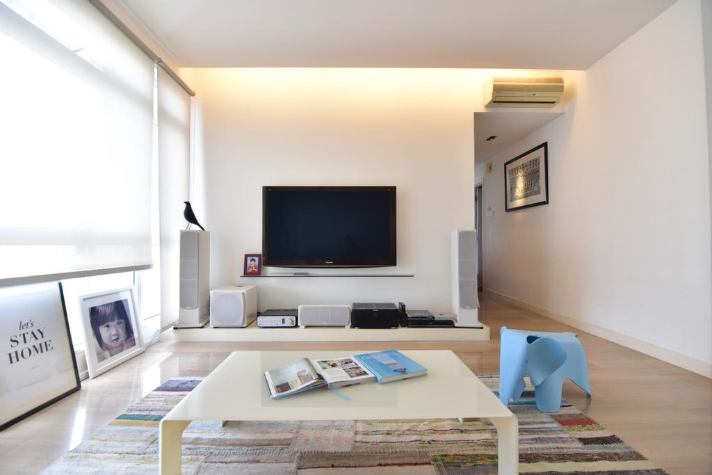 Scandinavian, Condo, Living Room, Casablanca, Interior Designer, Van Hus Interior Design