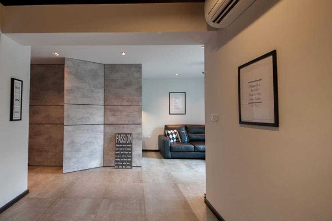 Rivervale Crescent (Block 162C), KDOT, Contemporary, Living Room, HDB, Plaque, Flooring, White Board
