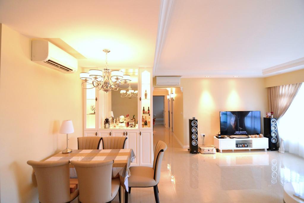 Traditional, HDB, Living Room, Yishun Street 31 (Block 334C), Interior Designer, Van Hus Interior Design