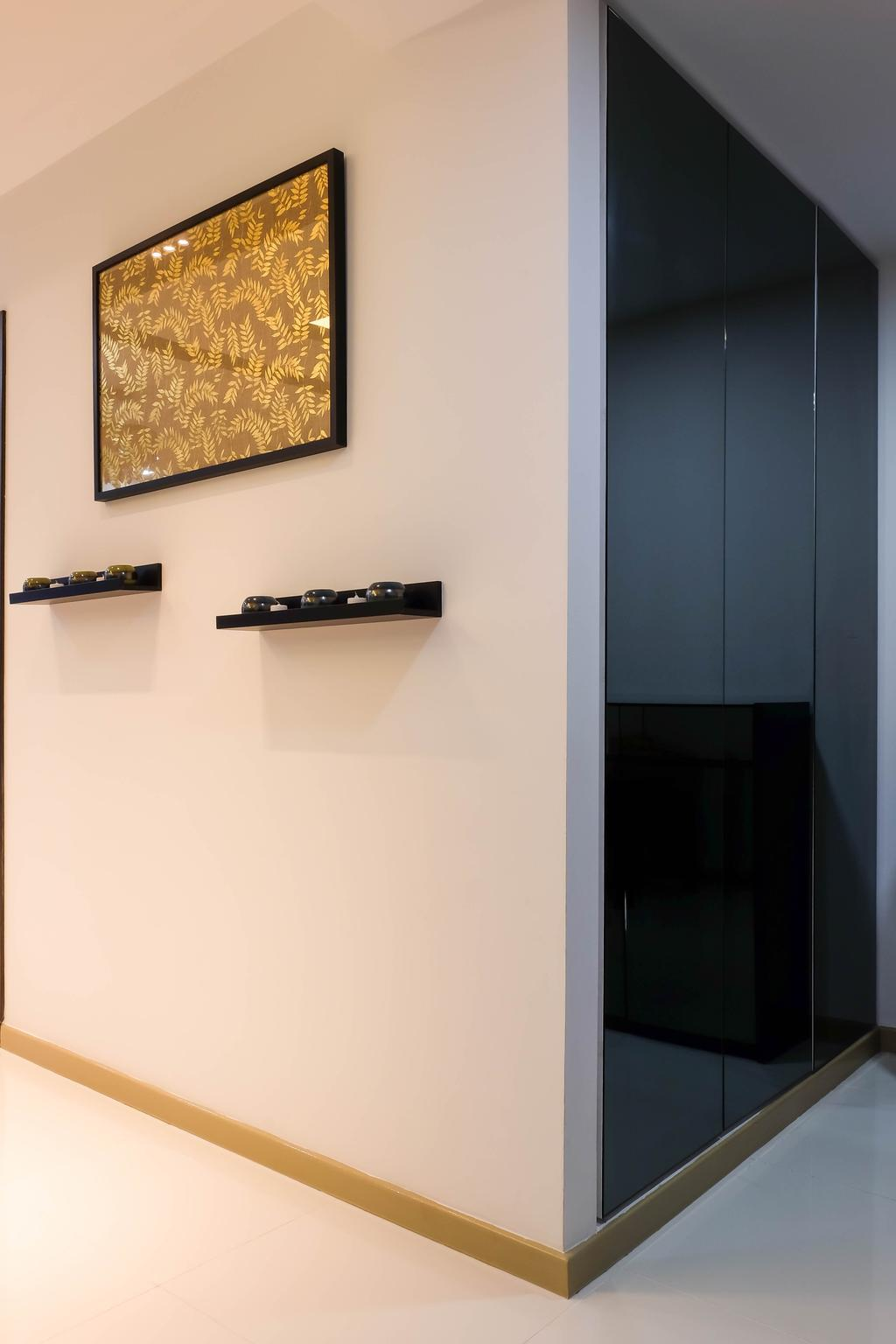 Traditional, Condo, Living Room, Heron Bay, Interior Designer, Fifth Avenue Interior, Wall Ledge, Wall Shelf, Corridor, Walkway, Hallway