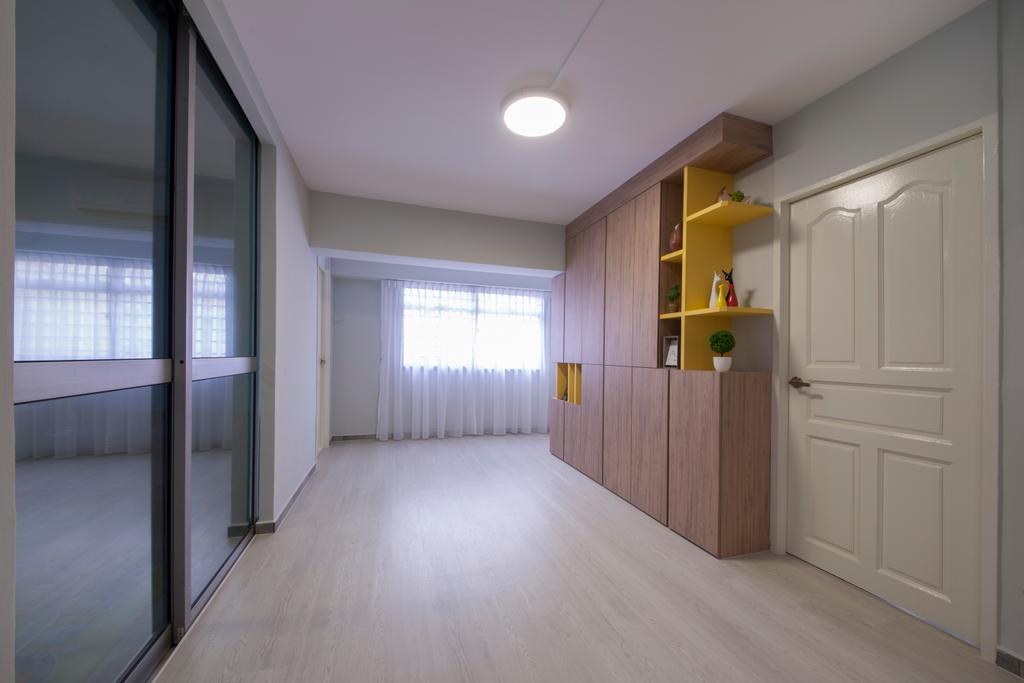 Traditional, HDB, Living Room, Jalan Bukit Merah (Block 134), Interior Designer, Yonder, Flooring, Floor