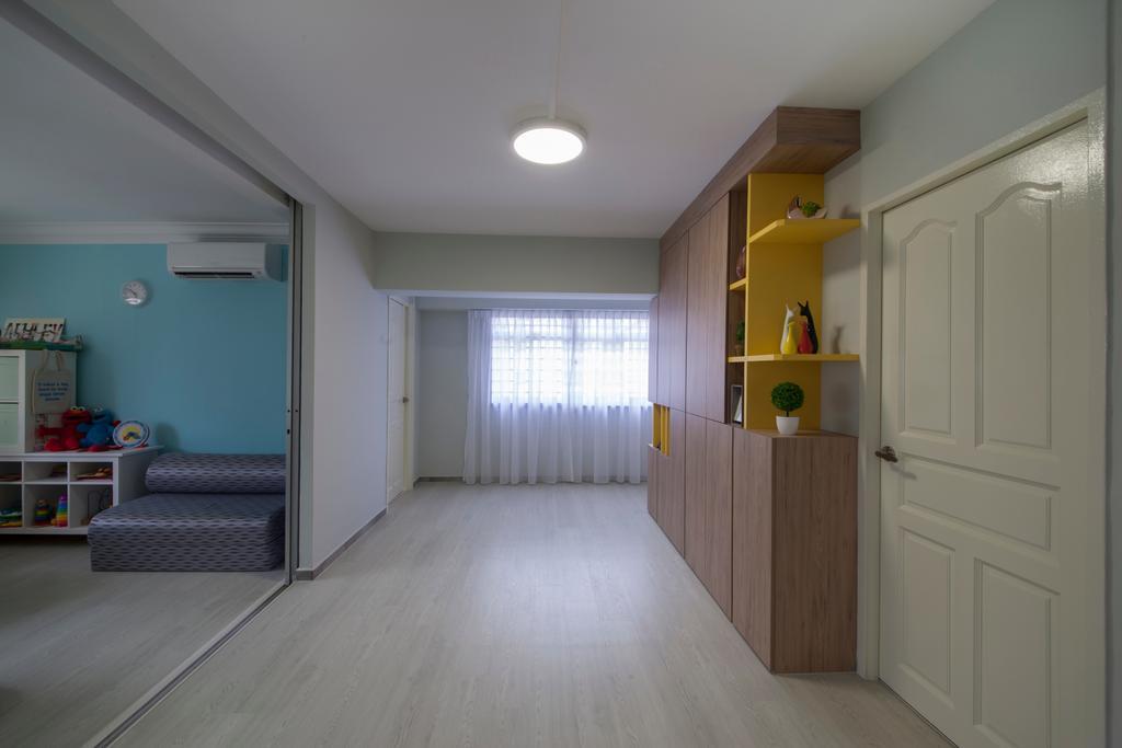 Traditional, HDB, Living Room, Jalan Bukit Merah (Block 134), Interior Designer, Yonder, Floor, Flooring