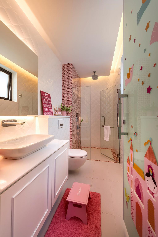 Contemporary, Landed, Bathroom, Chiselhurst Grove, Interior Designer, Space Vision Design, Toilet, Indoors, Interior Design, Room, Coffee Table, Furniture, Table