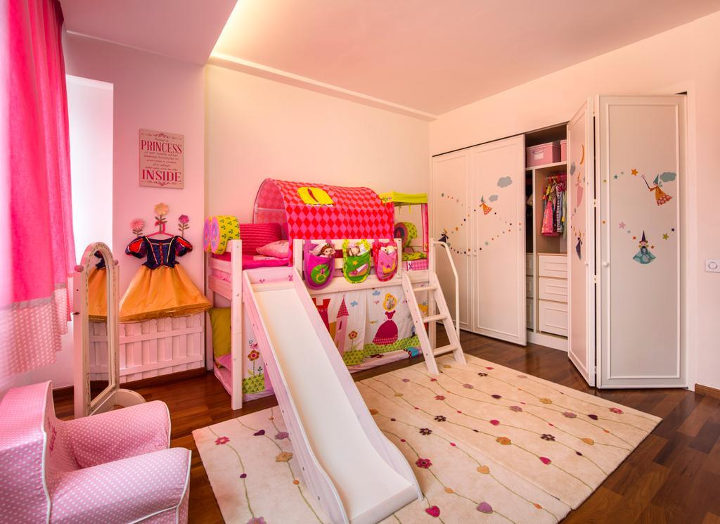 Contemporary, Landed, Bedroom, Chiselhurst Grove, Interior Designer, Space Vision Design, Chair, Furniture, Indoors, Nursery, Room