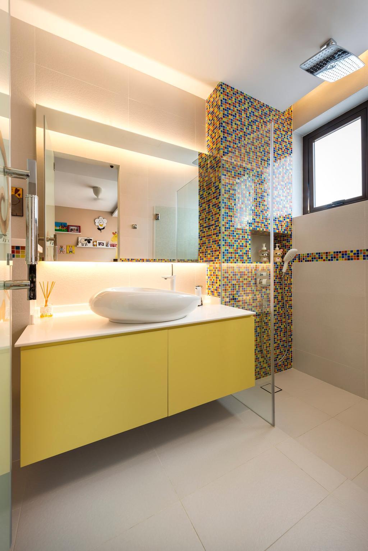 Contemporary, Landed, Bathroom, Chiselhurst Grove, Interior Designer, Space Vision Design, Indoors, Interior Design, White Board
