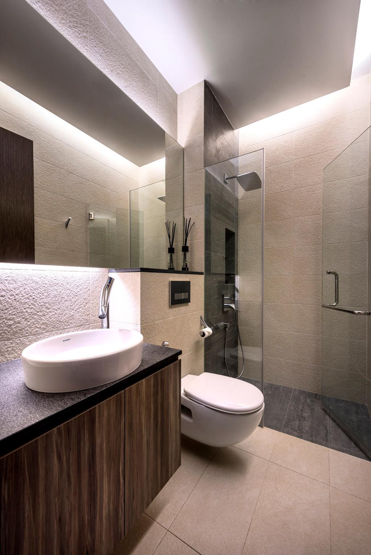 Contemporary, Landed, Bathroom, Chiselhurst Grove, Interior Designer, Space Vision Design, Indoors, Interior Design, Room