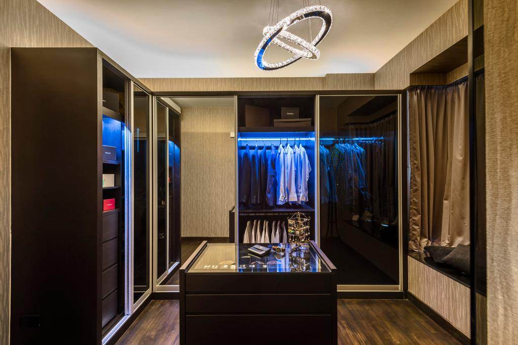 Modern, Condo, Bedroom, Riveredge, Interior Designer, Space Vision Design, Indoors, Interior Design
