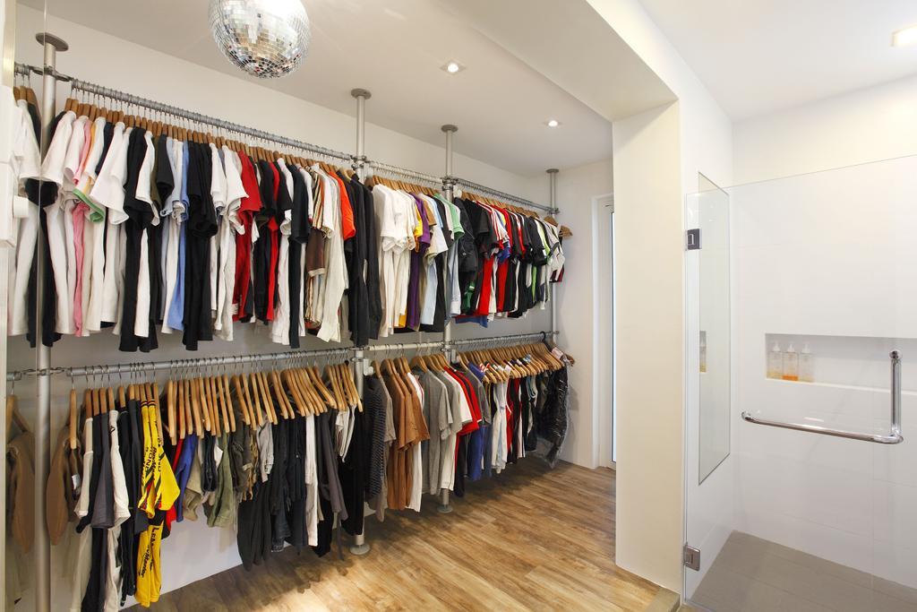 Modern, HDB, Bedroom, Telok Blangah, Interior Designer, Free Space Intent, Hanging Light, Closet, Wardrobe, Bathtub, Tub